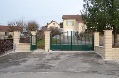 Portillon et portail aluminium